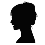 女性シルエット147190(150変換後)
