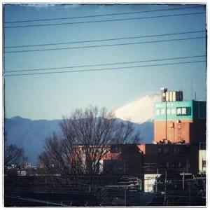 富士山171225