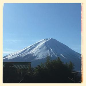 浅間神社前からの富士山(350変換後)